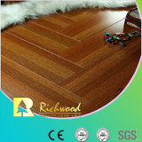 Household 12.3mm AC4 Crystal Cherry Sound Absorbing Laminate Flooring