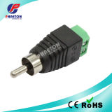 RCA Male to Camera CCTV BNC Video Balun Connector