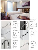 High Quality Stainless Steel Import LED Chip Hotel Guest Room Reading Wall Lamp