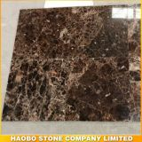 Hot Sale Dark Emperador Marble Tiles From Haobo Stone