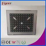 Fyeer Fashion Plastic Square Rainfall Shower Head (FP7014)