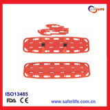 PP 184*45*7cm Fodable Spine Board Stretcher Dimensions