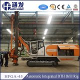 Hfga-45 Best Seller Hydraulic Bore Hole DTH Exploration Rock Blasting Drilling Machine
