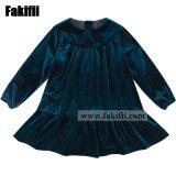 Baby Dress Children′ S Apparel Soft Velvet Ruffle Girl Dress