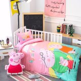Custom Printed 3D Organic Cotton Baby Room Bedding Sets