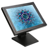 Factory Supply POS VGA USB LCD Resistive 4 / 5 Wire 15 Inch Touch Screen Monitors