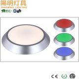 Flush Mount RGB LED Ceiling Lamp / Cheap Glass Ceiling Light for Kitchen/ Office/ Corridor