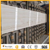 Straight White Wooden Vein Onyx Jade for Floor, Wall Tiles