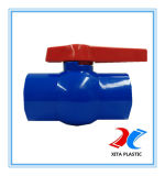 DIN Standard PVC Ball Valve with 110mm Blue Color