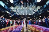 3D Illusion Infinity Mirror Dancing Flooring Tile for Wedding/Party/Night Club