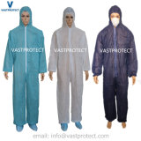 Protective Clothing Workear Blue Disposable Coverall
