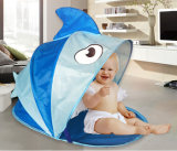 Cartoon Fish Shaped Custom Folding Pop up Baby Kids Beach Tent