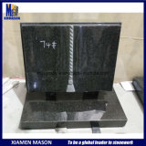 Eurpean Small Black Granite Open Book Granite Headstones Wholesale