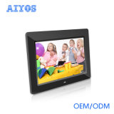 Multi-Language 10 Inch Loop Play All Day Long LCD Digital Photo Album