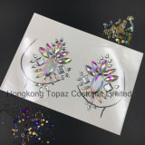 2018 Bling Popular and Safe Skin Sticker Adhesive Acrylic Gem Crystal Diamond Chest Stickers (SE01)
