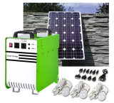 500W Portable off-Grid Solar Power Generator Power Supply with AC/DC/USB Outputs