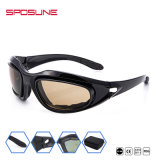 Factory Wholesale 3 Interchangeable Lens OEM Bullet-Proof Airsoft Army Military Sunglasses