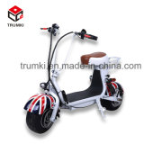 One Comfortable Seat Electric Motorcycle Scooter with Sensitive Brake