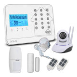 Smartphones Application Controlled Home House Intruder Alarm System with WiFi GSM