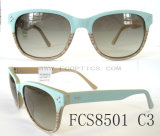 Fashion Lady Wooden Acetate Sunglasses