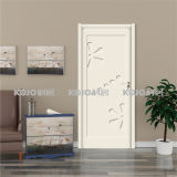 Composite Wooden WPC Waterproof Extruded Raw Material/Painting Door (YM-012)