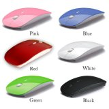 Cheap Wholesale Thin Slim 2.4G Optical Computer Wireless Mouse for Mac Laptop Windows