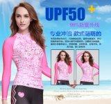 2016 Body Shape Lady′s Wetsuit & Digital Printed Sportwear (CL-726)