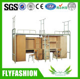 Dormitory Furniture Latest Popular School Double Bunk Bed