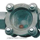 Screw Thread Sight Glass-Flow Indicator with Floater