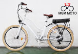 Retro Beach Cruiser Classical Fat Tire City Electric Bike