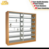 5 Storey Double Pillar Metal Bookshelf