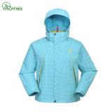 Outdoor Nylon/PU Waterproof Sportwear Jacket