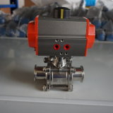 Encapsulated Sealed Stainless Steel Pneumatic Ball Valve