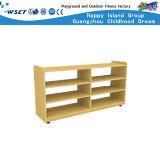 Wooden Children Storage Cabinet Kindergarten Furniture (M11-08608)