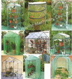 Luxury Greenhouse for Vegetable Flower Plant PVC PE Outdoor 2015 on Sale