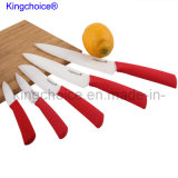 Porcelain Ceramic Chef Knife for P08 Red Handle Series (CKW345678P08)