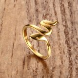 Wholesale Stainless Steel Snake Opening Ring