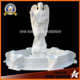 White Marble Granite Garden Water Fountain for Home Decoration