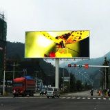IP65 Merchanical Front Access Adjustable Brightness LED Display for Outdoor Billboard