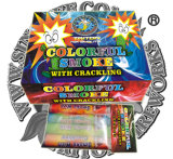 Colorful Smoke with Crackling Toy Fireworks Lowest Price