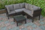 Viro PE Rattan Garden Tea Table Chair Set Outdoor