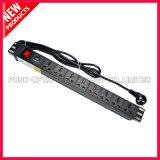 19 Inch 1U Power Distribution Unit Rack Mount PDU