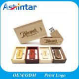 Customized USB Stick Wooden USB Flash Memory Pen Drive Bamboo USB Flash Drive