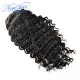 100% Human Hair Wig Deep Wave Lace Wig
