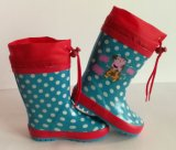 New Fashion Printing Rubber Boot, Cheap Pretty Children Boots, Kid Rubber Boot, Rain Boots, Child Rubber Boot, Children Rubber Shoe, Pretty Kid's Rubber Boots