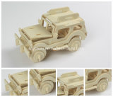 3D Wood Puzzles Children Adults Vehicle Puzzles Wooden Toys