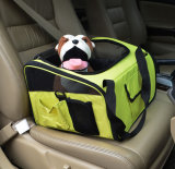 Pet Puppy Dog Car Seat Carrier with Belt