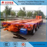 2/3 Lines 6 Axle Heavy Duty 120t Low Bed Semi Trailers Special Vehicle for Bridge Transportation