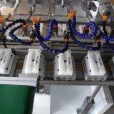 Servo Four Color Pad Printing Machine with Conveyor