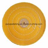Yellow Muslin Buffing Polishing Wheel for Jewelry